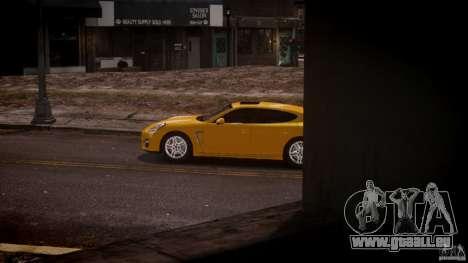 Porsche Panamera Turbo S für GTA 4 linke Ansicht