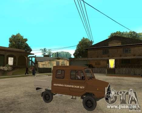 LuAZ-13021-04 für GTA San Andreas rechten Ansicht