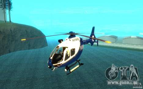 NYPD Eurocopter von SgtMartin_Riggs für GTA San Andreas