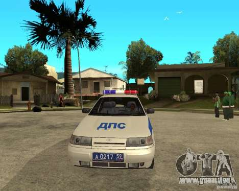 LADA 21103 DPS für GTA San Andreas Rückansicht