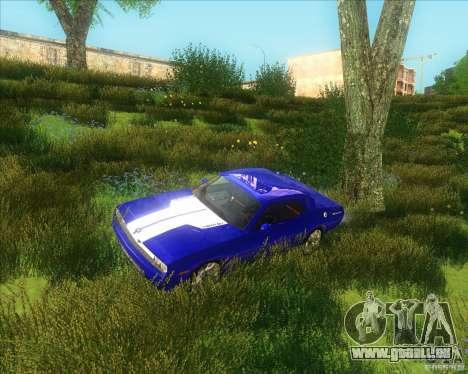 Dodge Challenger concept pour GTA San Andreas laissé vue