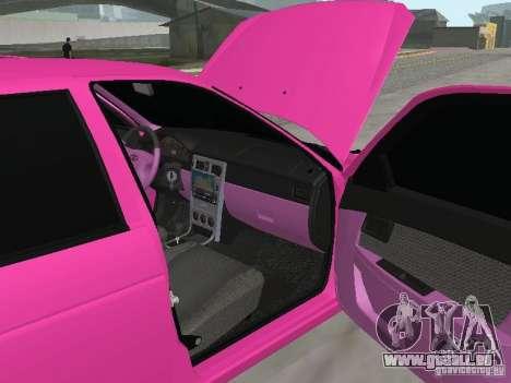 Lada Priora Emo pour GTA San Andreas vue de côté
