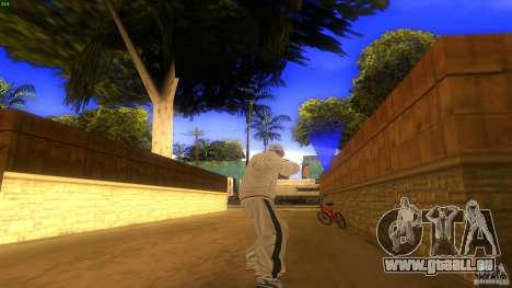 BrakeDance mod für GTA San Andreas dritten Screenshot
