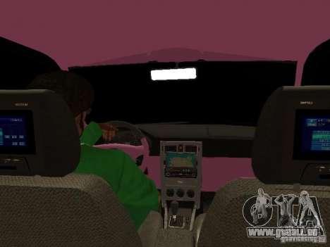 Lada Priora Emo pour GTA San Andreas roue