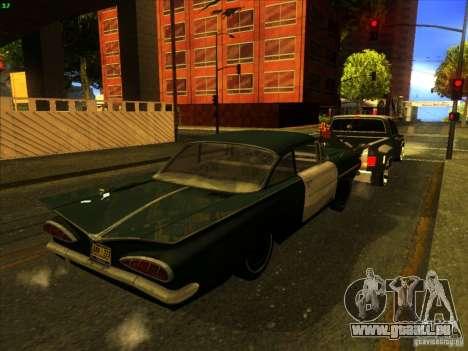 Chevrolet Silverado Towtruck für GTA San Andreas Unteransicht