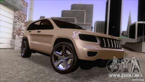 Jeep Grand Cherokee 2012 für GTA San Andreas
