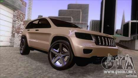 Jeep Grand Cherokee 2012 für GTA San Andreas
