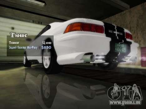 Toyota MR2 GT für GTA San Andreas obere Ansicht