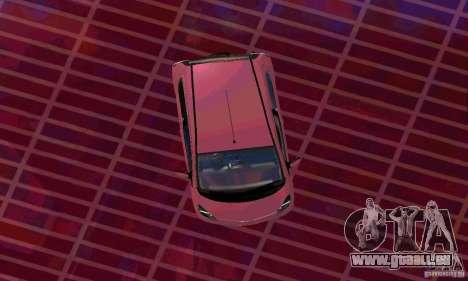 Toyota Aygo V1.0 pour GTA San Andreas sur la vue arrière gauche