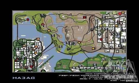 Gebiet in der Wüste für GTA San Andreas fünften Screenshot