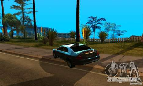 Ford Fusion Sport pour GTA San Andreas laissé vue