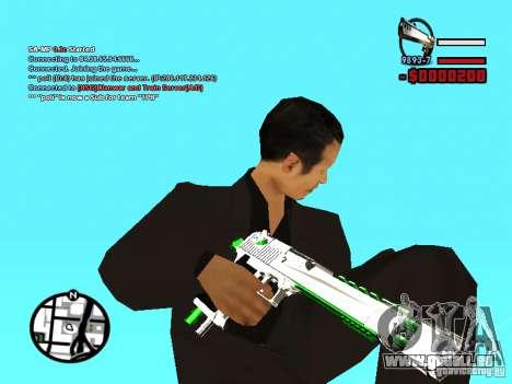 Nouveau Deagle pour GTA San Andreas deuxième écran