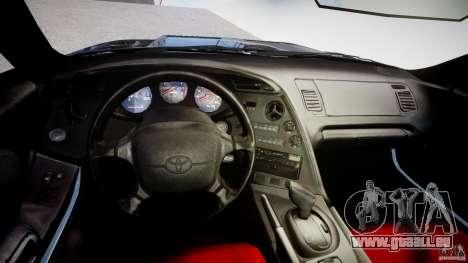 Toyota Supra JZA80 für GTA 4 rechte Ansicht