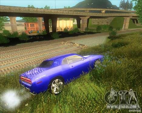 Dodge Challenger concept pour GTA San Andreas vue de droite