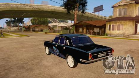 GAZ Volga 24 für GTA San Andreas zurück linke Ansicht