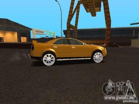Hummer H0 pour GTA San Andreas laissé vue