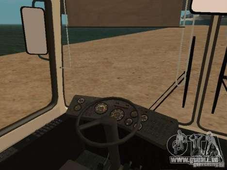 LAZ 52527 für GTA San Andreas Rückansicht