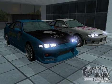Nissan Skyline R 33 GT-R für GTA San Andreas Seitenansicht