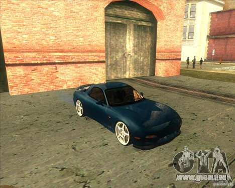 Mazda RX 7 für GTA San Andreas linke Ansicht