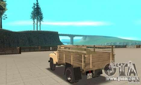 Gaz-52 pour GTA San Andreas sur la vue arrière gauche