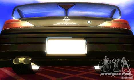 Nissan Silvia S15 8998 Edition Tunable pour GTA San Andreas vue intérieure