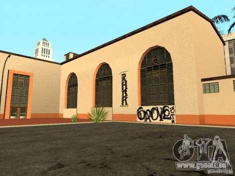 Nouvelles textures pour la station de l'unité pour GTA San Andreas deuxième écran