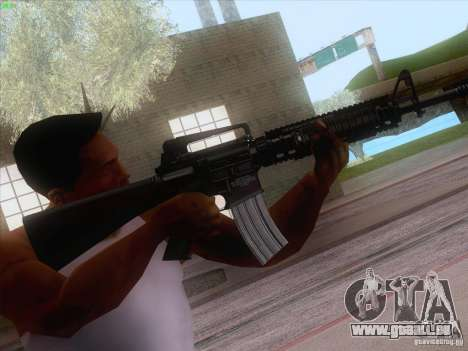 M16A4 für GTA San Andreas her Screenshot