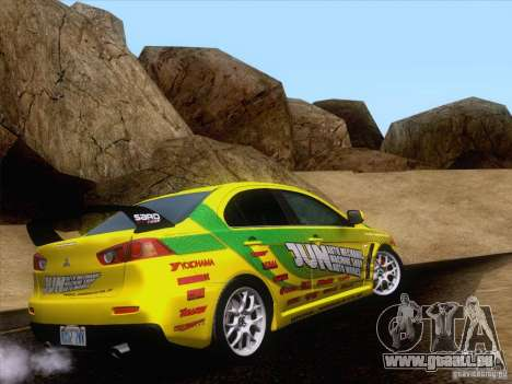 Downhill Drift pour GTA San Andreas cinquième écran