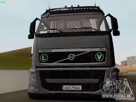Volvo FH13 Globetrotter für GTA San Andreas