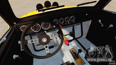 Volkswagen Fusca Buggy 1963 für GTA 4 Rückansicht