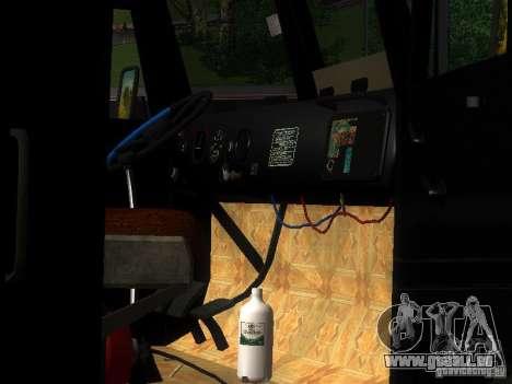 KrAZ-254 für GTA San Andreas obere Ansicht