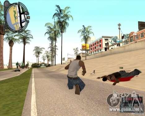 Real Weapons Drop Mod beta für GTA San Andreas dritten Screenshot