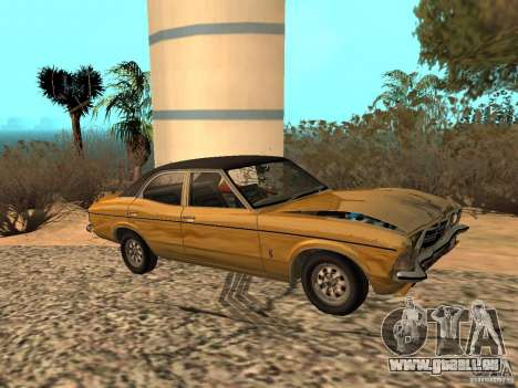 Ford Cortina MK 3 Life On Mars pour GTA San Andreas vue arrière