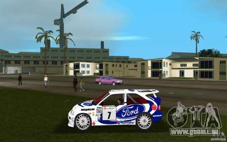 Ford Escort Cosworth RS pour une vue GTA Vice City de la gauche