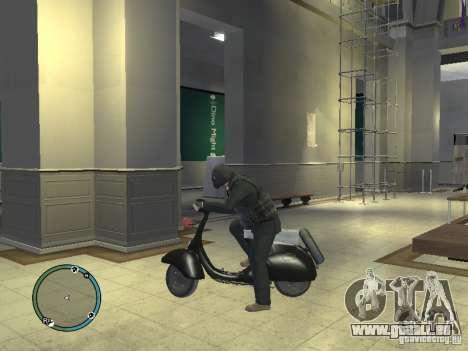 Vyatka moteur scooter pour GTA 4 est une gauche