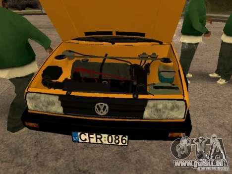 Volkswagen Jetta pour GTA San Andreas vue de droite