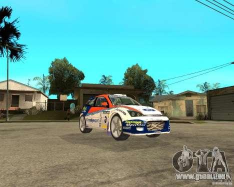 Ford Focus WRC 2002 pour GTA San Andreas vue de droite