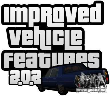 Improved Vehicle Features v2.0.2 (IVF) pour GTA San Andreas