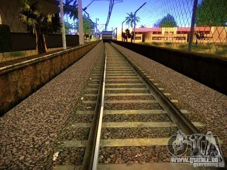 Neue Schienen für GTA San Andreas achten Screenshot