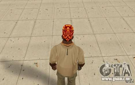 Halloween-bandana für GTA San Andreas dritten Screenshot