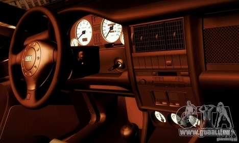 Audi RS2 Avant Thug für GTA San Andreas Seitenansicht