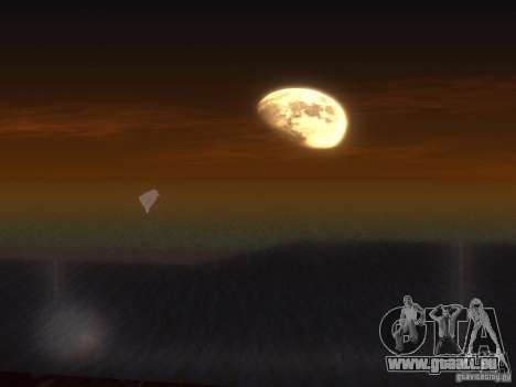 Eau HQ pour GTA San Andreas cinquième écran