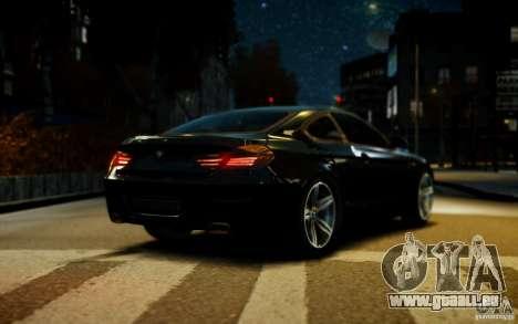 BMW 640i F12 pour GTA 4 Vue arrière