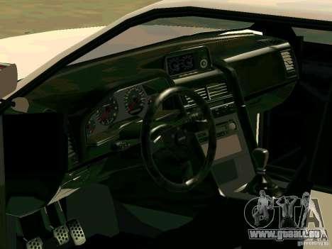 New Sultan v1.0 für GTA San Andreas Innen