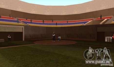 Terrain de Baseball animées pour GTA San Andreas quatrième écran