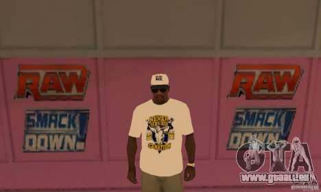 Casquette John Cena pour GTA San Andreas