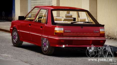 Renault Flash Turbo 11 pour GTA 4 est un côté