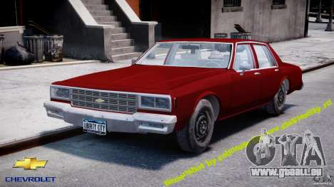 Chevrolet Impala 1983 v2.0 pour GTA 4