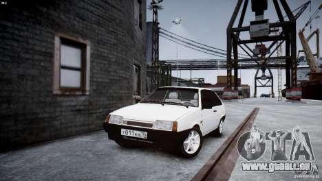 VAZ 21083i pour GTA 4 est un droit