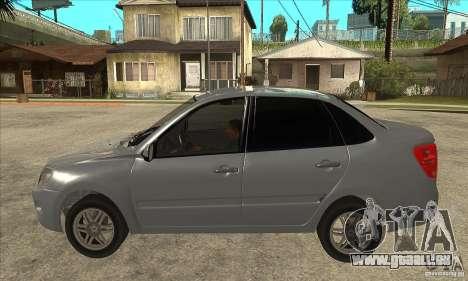 2190-VAZ Lada Granta Grant pour GTA San Andreas laissé vue